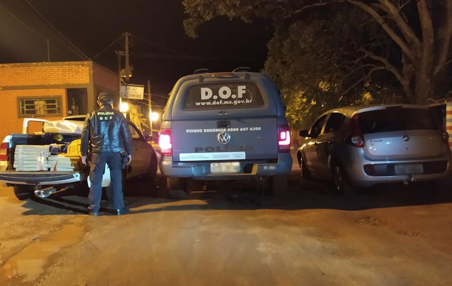 Carro com quase 300 quilos de maconha é apreendido em Ponta Porã