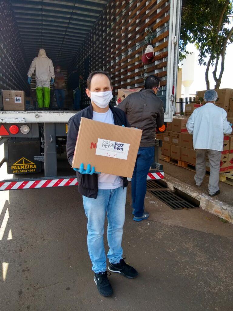 Ponta Porã recebe novas doações da JBS