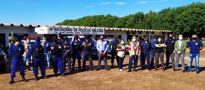 Em Ponta Porã, força-tarefa realizam operação para prevenir e combater o Covid-19