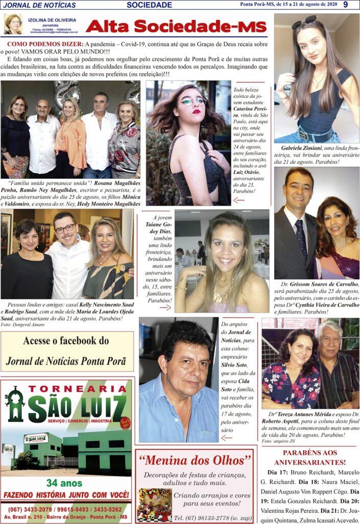 Alta Sociedade com Izolina de Oliveira