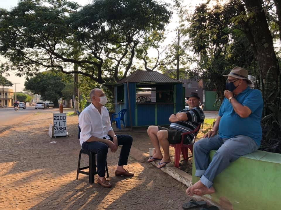 'Somos Todos Ponta Porã' oficializa Hélio Peluffo a prefeito em convenção nesta 4ª feira