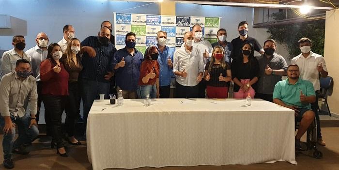 Em Ponta Porã, Dem se reúne e indica Eduardo Campo para ser vice de Hélio Peluffo Filho