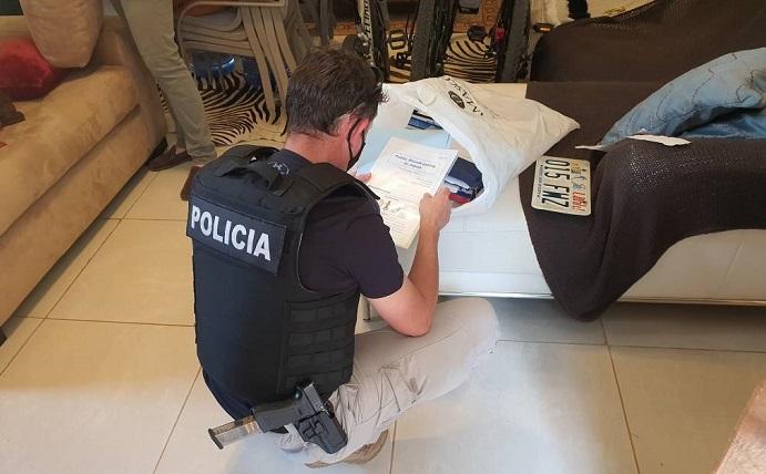 Incautación histórica de cocaína: cuarto allanamiento, ahora en San Bernardino