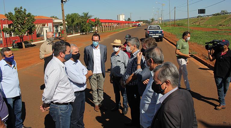 Novo quartel do Corpo de Bombeiros garante mais segurança à população da região de Sāo Gabriel do Oeste