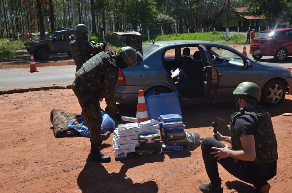 11º Regimento de Cavalaria Mecanizado participou da Operação ÁGATA DE AÇO IV