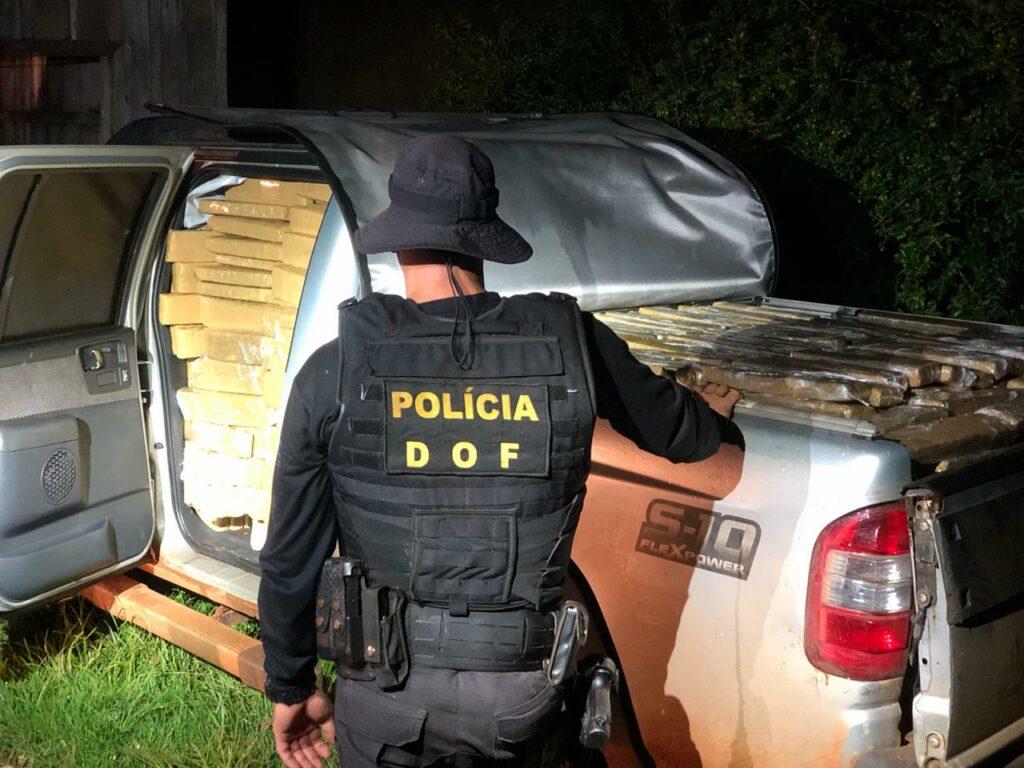 DOF fecha entreposto de droga em Antônio João e apreende maconha
