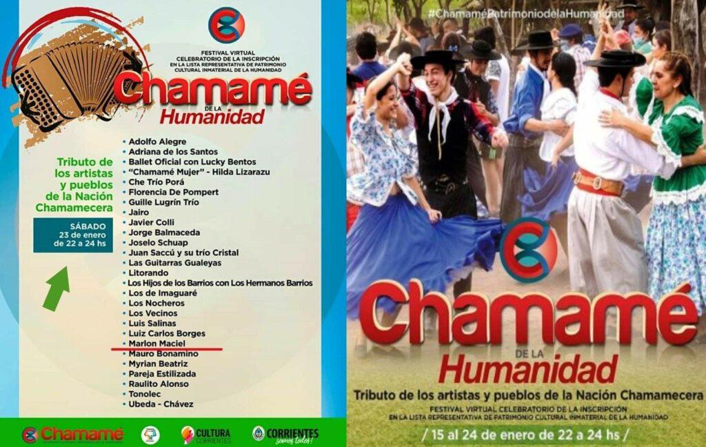 Marlon Maciel é atração confirmada em Festival virtual Internacional de Chamamé