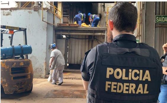 PF de Ponta Porã incinera 12 toneladas de entorpecentes com apoio da Força Nacional