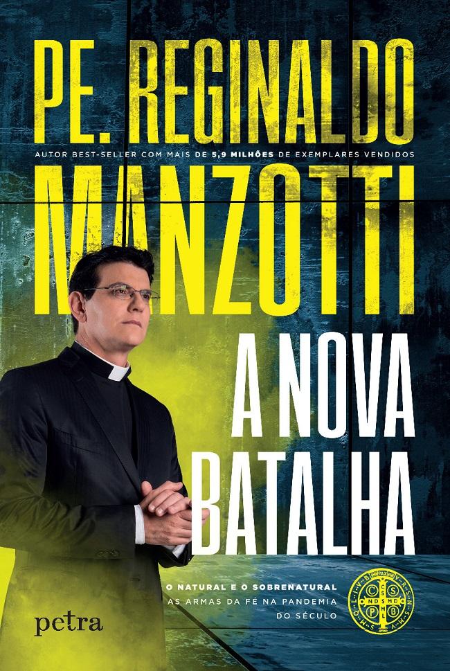 Padre Reginaldo Manzotti lança livro impactante sobre a pandemia