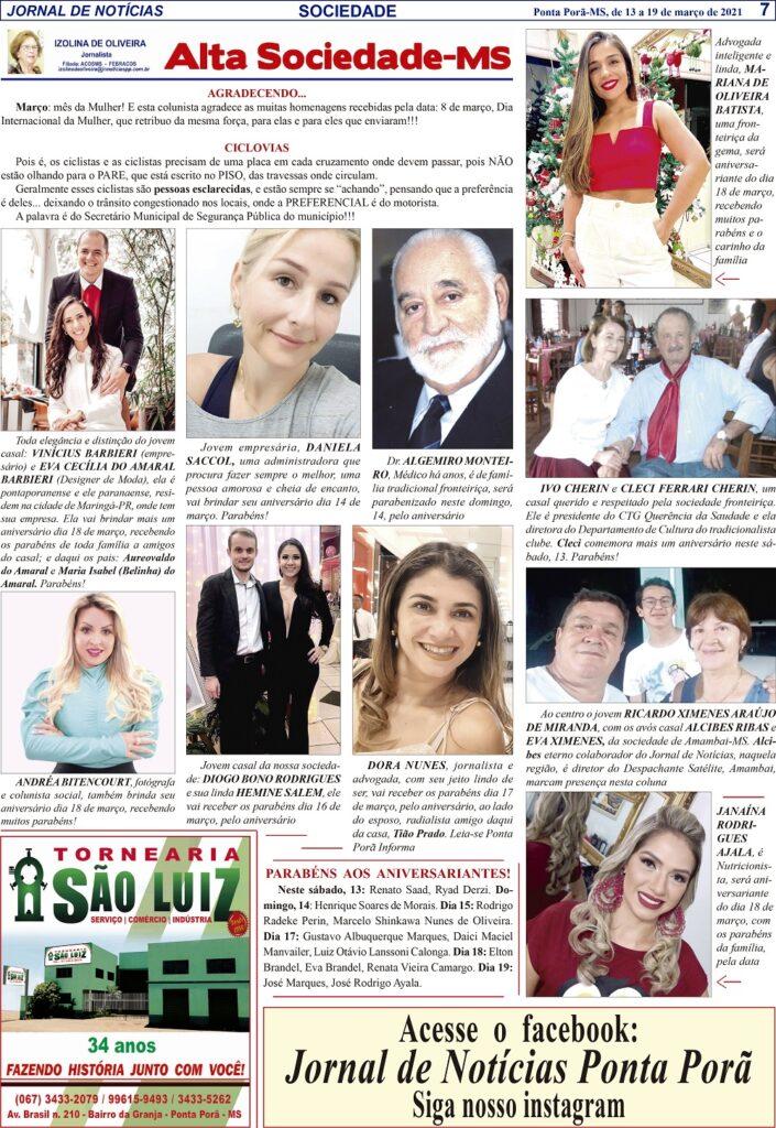 Alta Sociedade por Izolina de Oliveira