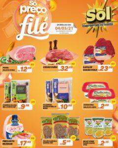 Supermercado Sol e as ofertas da terça só preço filé