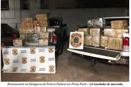 Ponta Porã: PF realiza operação para combater organização criminosa, em Campo Grande e na fronteira