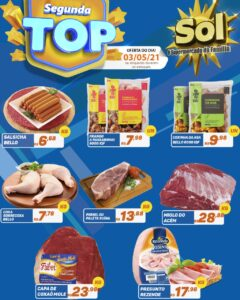 Supermercado Sol e as ofertas da segunda top