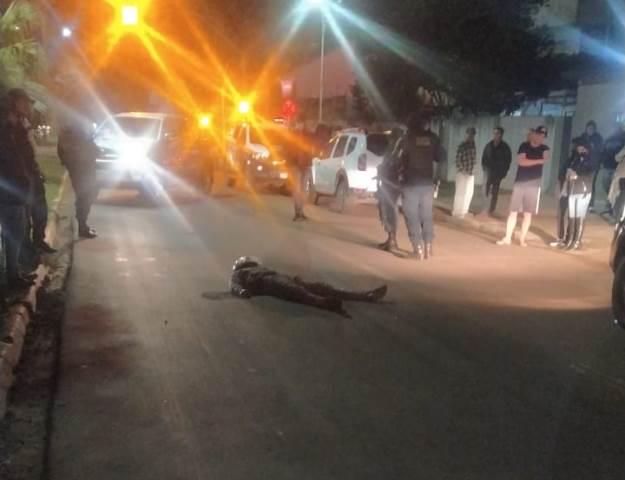 Tentativa de assalto em Ponta Porã deixa ladrão gravemente ferido