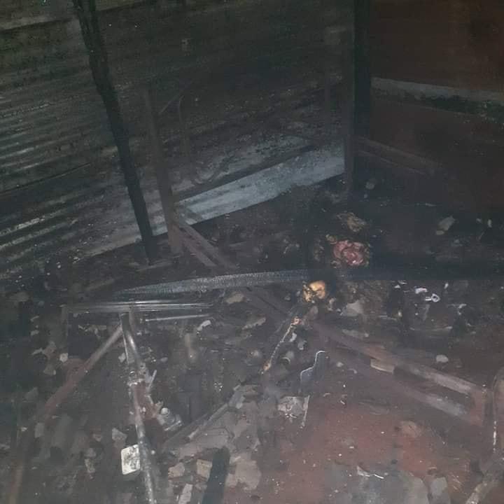 Indigente morre queimado em sua casinha em Pedro Juan Caballero
