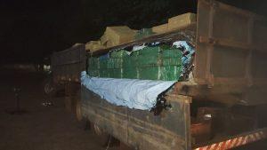 Policiais do 4º BPM apreendem mais de oito toneladas de maconha no Distrito de Nova Itamarati