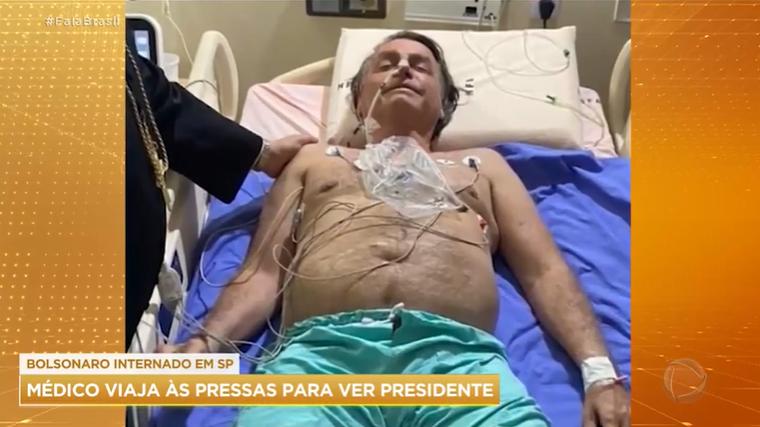 Bolsonaro tem evolução e está sem sonda, mas segue internado