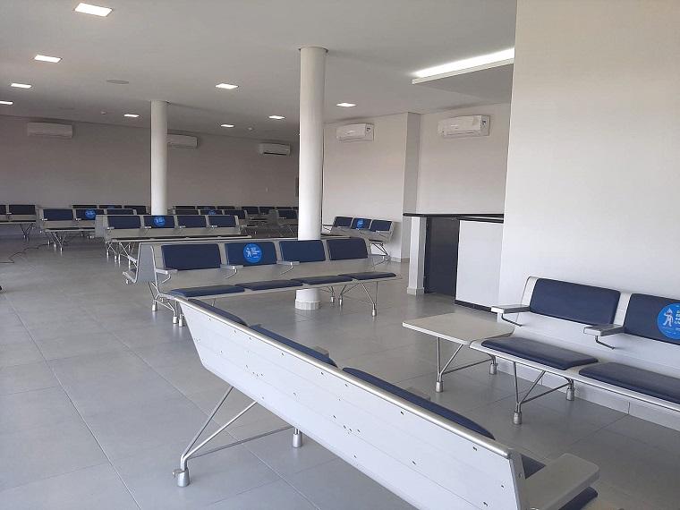 Aeroporto de Ponta Porã conclui ampliação da sala de embarque