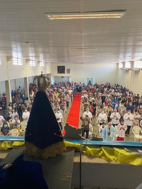 Manifestações de fé marcam o dia de Nossa Senhora Aparecida em Ponta Porã