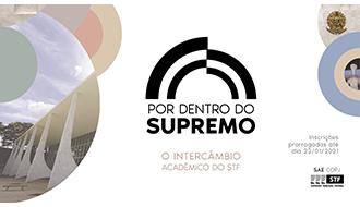 """Comissão Organizadora divulga resultado da primeira edição do programa de intercâmbio """"Por Dentro do Supremo"""""""