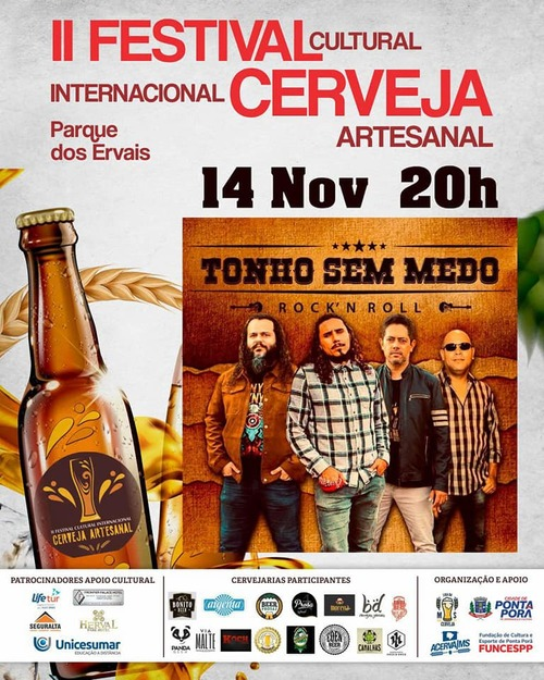 Festival Cerveja Artesanal em Ponta Porã, impulsiona produção de Mato Grosso do Sul