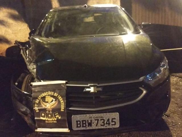 Em Ponta Porã, DOF recupera veículo furtado durante abordagem policial
