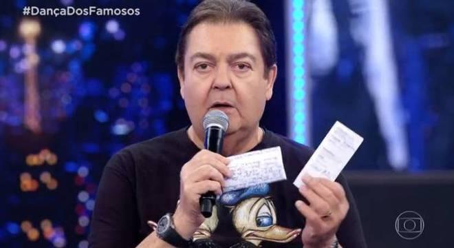 Faustão tem que parar com as grosseriasReprodução/Globo