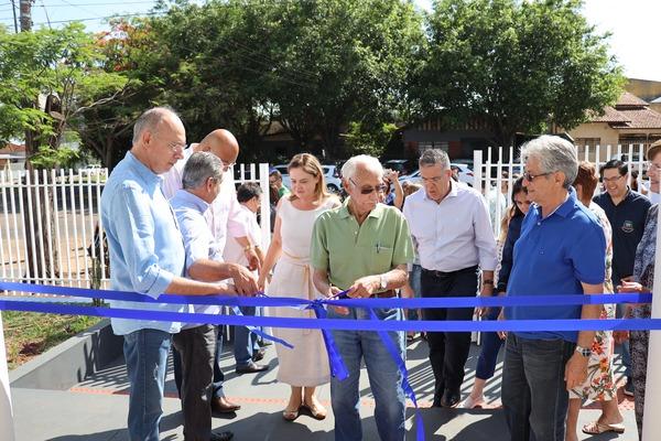 Prefeito Hélio Peluffo inaugura, em Ponta Porã, a Central de Matrículas na REME