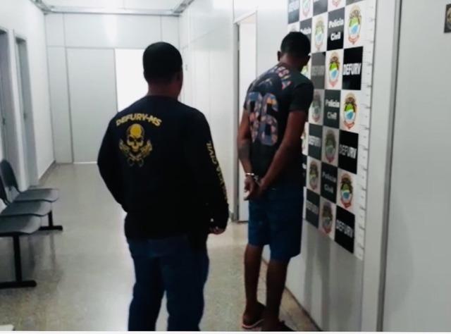 Ladrão de MS abordava somente mulheres e roubava o carro e pertences delas — Foto: Polícia Civil/Divulgação