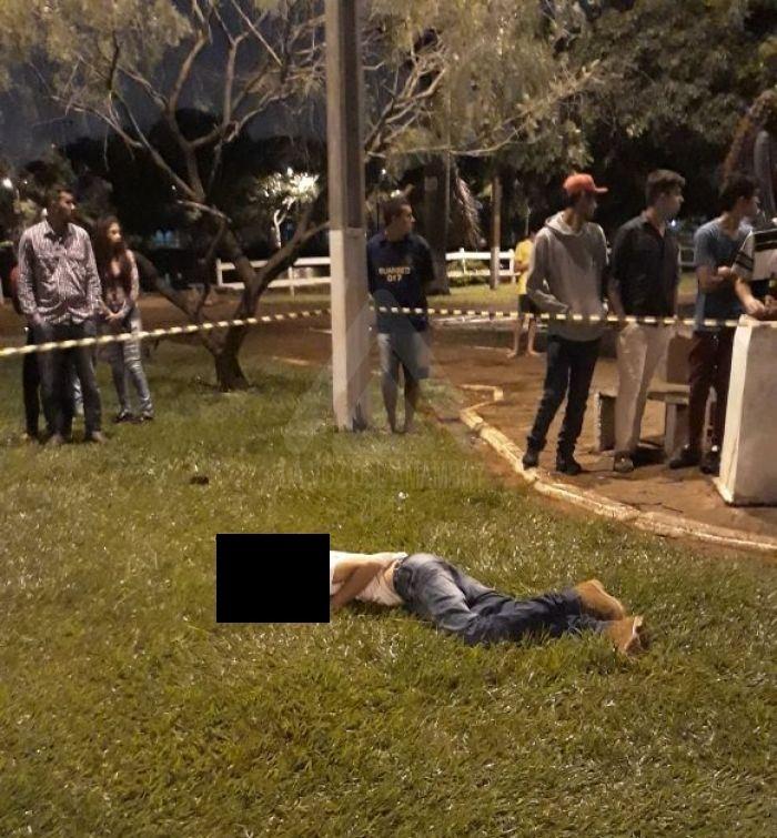 Fronteira: Homem é assassinado na Laguna Punta Porá em Pedro Juan Caballero