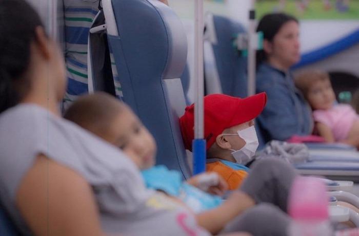 El departamento Hemato-Oncología Pediátrica asiste a unos 500 niños. Imagen de referencia. Foto: Ministerio de Salud