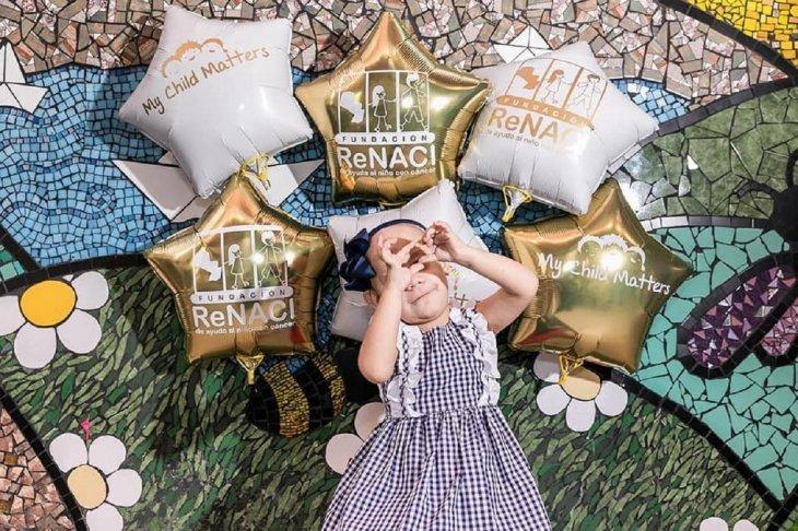 La campaña denominada Febrero Dorado busca sensibilizar y concientizar sobre el cáncer infantil. Foto: Renaci.