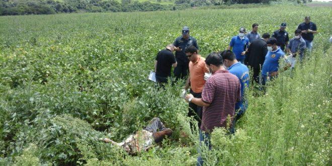 Polícia identifica assassinos de homem encontrado em plantação de soja na fronteira