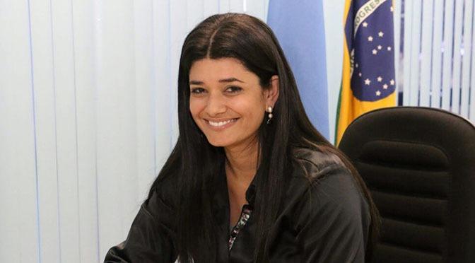 Vice-governadora, Rose Modesto, é destaque de liderança e empoderamento feminino. Foto: Leca