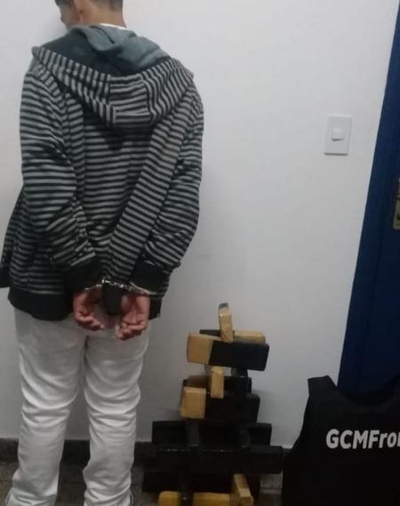 Em Ponta Porã, Guarda Civil Municipal apreende adolescente com droga